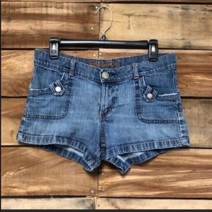 Mossimo denim shorts cute summer jean shorts sz 9